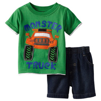 Wholesale 6set New Summer Boys Clothing Sets Boys Clothes Set Baby Boy Clothes T Shirt And