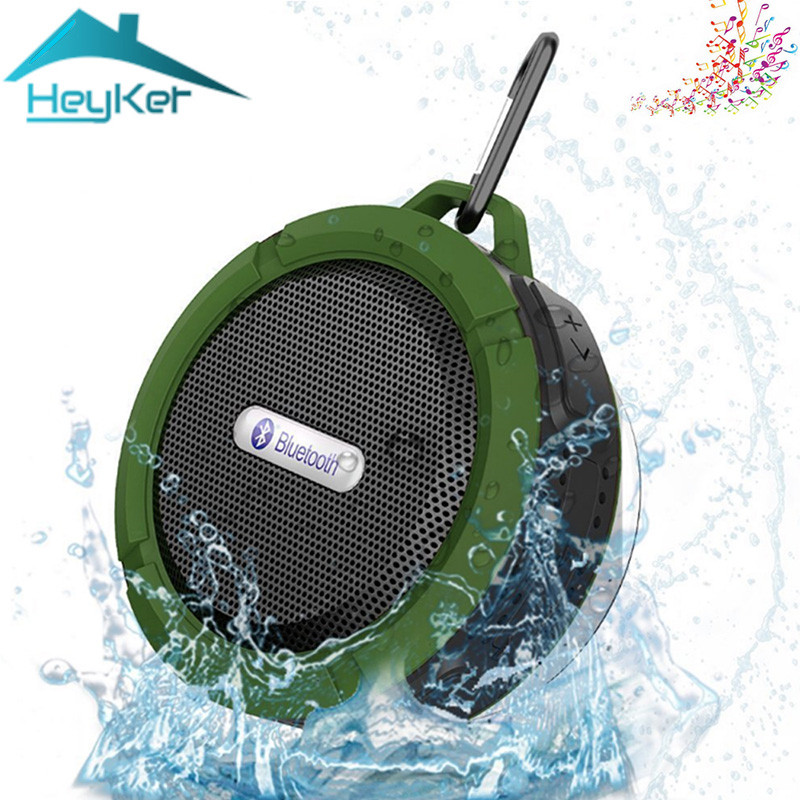 Mini Portable bluetooth Speaker Shock Resistance IPX6 waterproof Wireless Shower Bicycle Speakers with mic,suction,TF Boombox