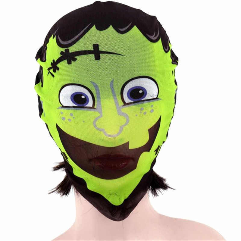 ハロウィーンのマスク女性のセクシーなフルフェイスパーティーマスク怖いコスプレパーティーの装飾ヘッドギア仮面舞踏会のためのマスク男性