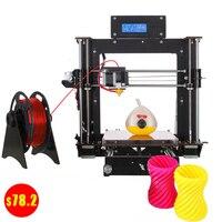 Cheap Prusa i3 3D Printer Wood Frame High Precision Impressora USA Stock