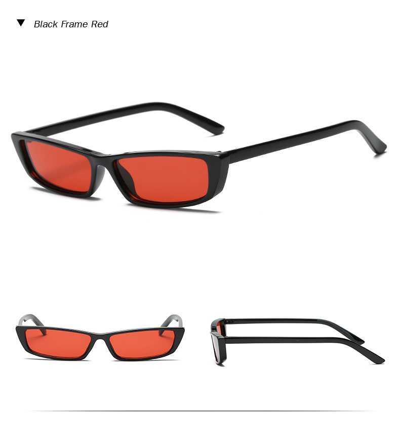 HTB1zY7rb7fb uJkSnhJq6zdDVXaG - Vintage Rectangle Sunglasses Women Brand Designer Small Frame Sun Glasses Retro Black Eyewear