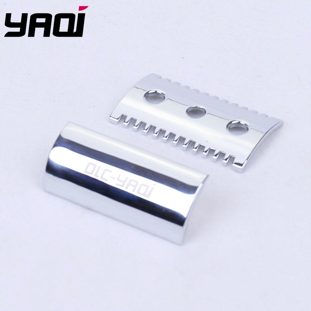 Yaqi Chrome Color Open Comb Shaving Razor Head