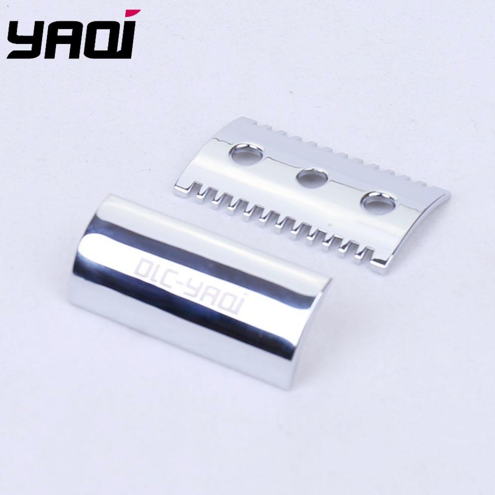 Yaqi Chrome Color Open Comb Shaving Razor Head