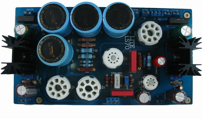 LS70 tube rectifier power supply board tube before the general level before the incal