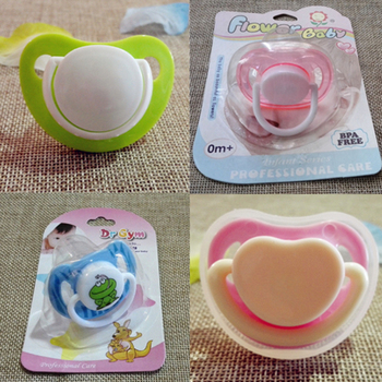 Baby Pacifier Newborn Infant Cartoon Animals Plush Nipple Soother Toys Babys Soother Nipple DogTiger Pacifier Clip