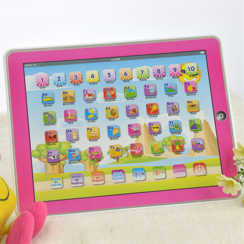 Spanish-Learning-Educational-Machine-Baby-Spanish-Learning-Machine-Electronic-Touch-Tablet-Toy-Pad-For-Children-Kids-Laptop-Pad-3