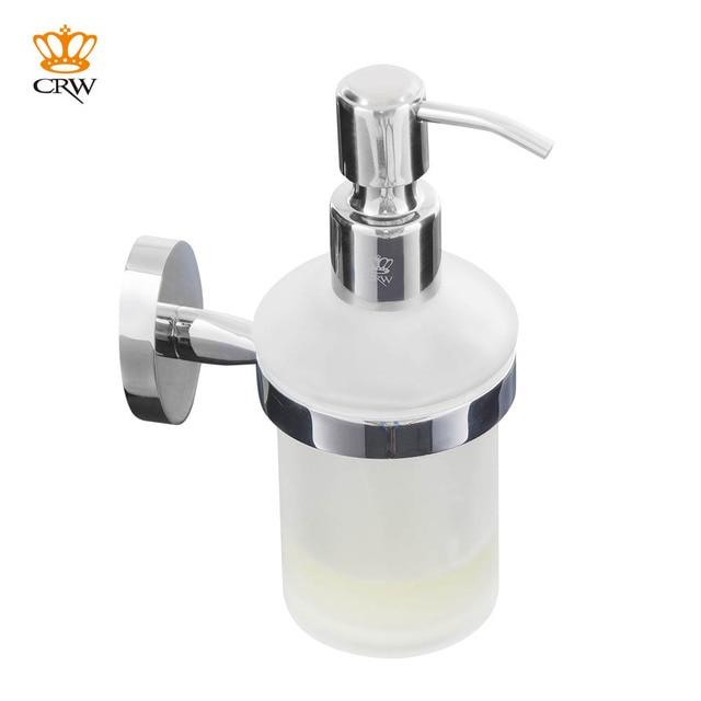 pompe de distributeur de savon liquide crw fixée au mur pour la