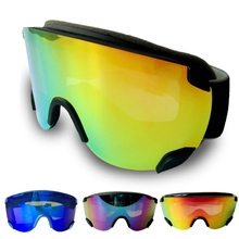 Double Lens Skiing Glasses Snow Goggles Anti-Fog Skateboard Mask  Snowboard Skiing Goggle SG48