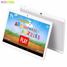 10 inch WeCool M102 Android Kids Tablet PC with 3G Phone Calling 16GB with lots of Children Education Apps and Child Games Gift
