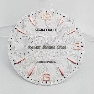 Image 5 - 36.8mm Goutent Wijzerplaat Kit ETA 6497, seagull st36 Mechanische Mannen Horloge Gezichten (6 Stijlen van Gezichten)