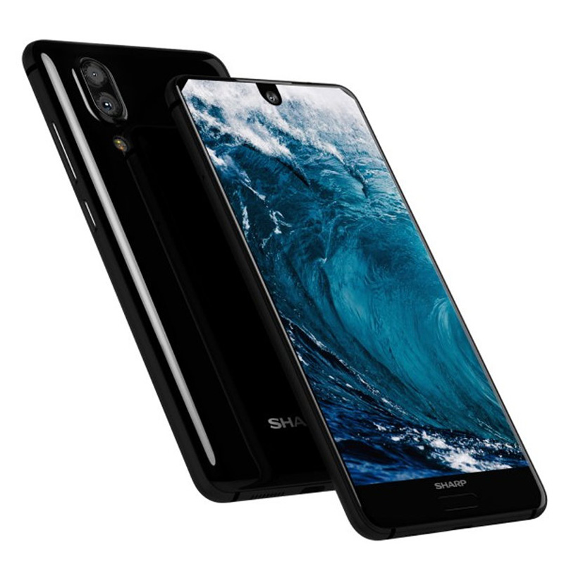 Image 3 - SHARP AQUOS C10 S2 SmartPhone Android 8.0 4GB+64GB 5.5 FHD+ Snapdragon 630 Octa Core Face ID NFC 12MP 2700mAh 4G-in Cellphones from Cellphones & Telecommunications