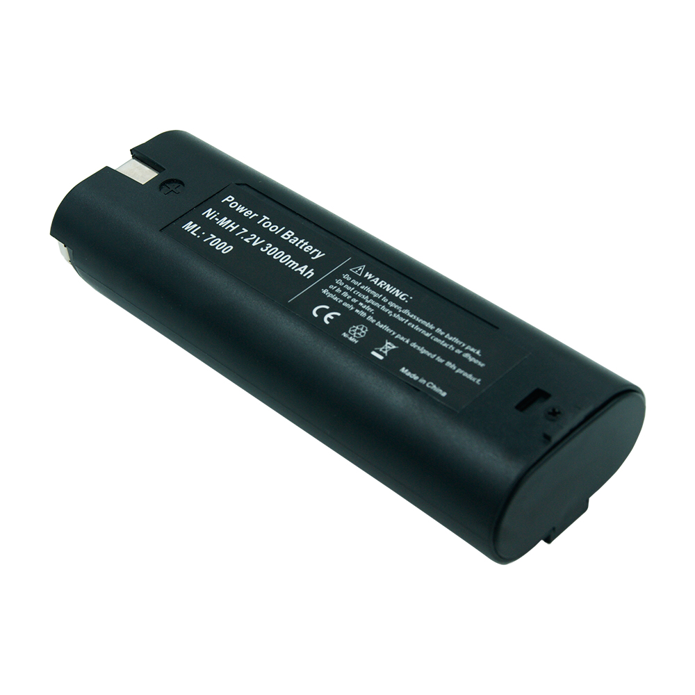 New 3000mAh <font><b>Ni</b></font>-<font><b>MH</b></font> <font><b>7.2V</b></font> Rechargeable Cordless Drill Power Tool <font><b>Battery</b></font> For Makita 191679-9 632002-4 7000 7002 7033 192532-2 image