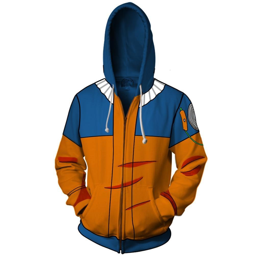 3D Printing Hooded Coat Unisex Naruto Men Long Sleeve Sweatshirts Hoodies Fashion Cosplay Casual Zipper hooded Jacket clothing