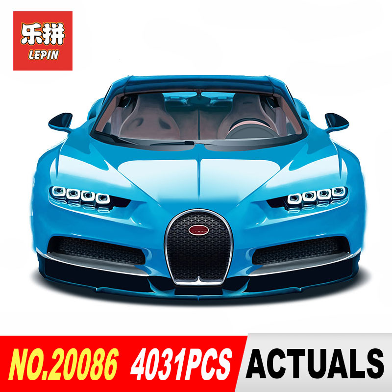 Lepin 20086 Technic Chiron Racing Car 20086B Sets Compatible 42083 20001 23002 23006 Model Building Kits Blocks Bricks lepin bugatti 20086b technic figures chiron racing car sets compatible legoing 42083 model building kits blocks bricks boy toys