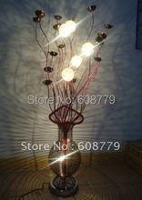 F039-- New Arrival Free Shipping Aluminum Sculpture Floor Lamp(China)