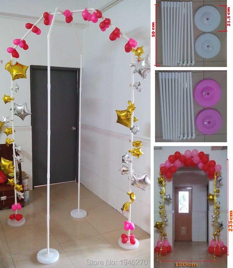 Balloon arch DIY wedding decorations Party Supplies Home Garden beach wedding narrow door Balloon Arch BASEs