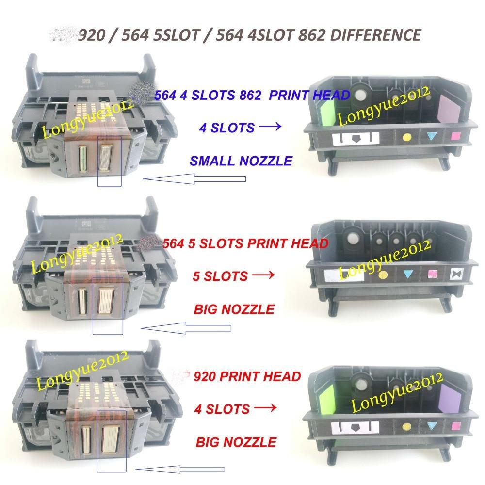 5-Slot 564 Printhead Cn642a Cb326-30002 for HP Photosmart 7510 7520 7515 7525 US