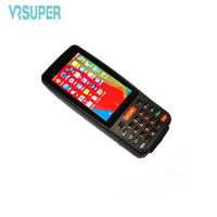 Android Handheld 1D Barcode Scanner PDA With GSM GPS CAMERA Scanner