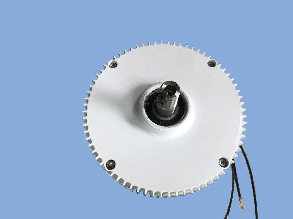 Rare earth 400w DC 12v/24v PMG / low rpm Permanent magnet generator for wind turbine price