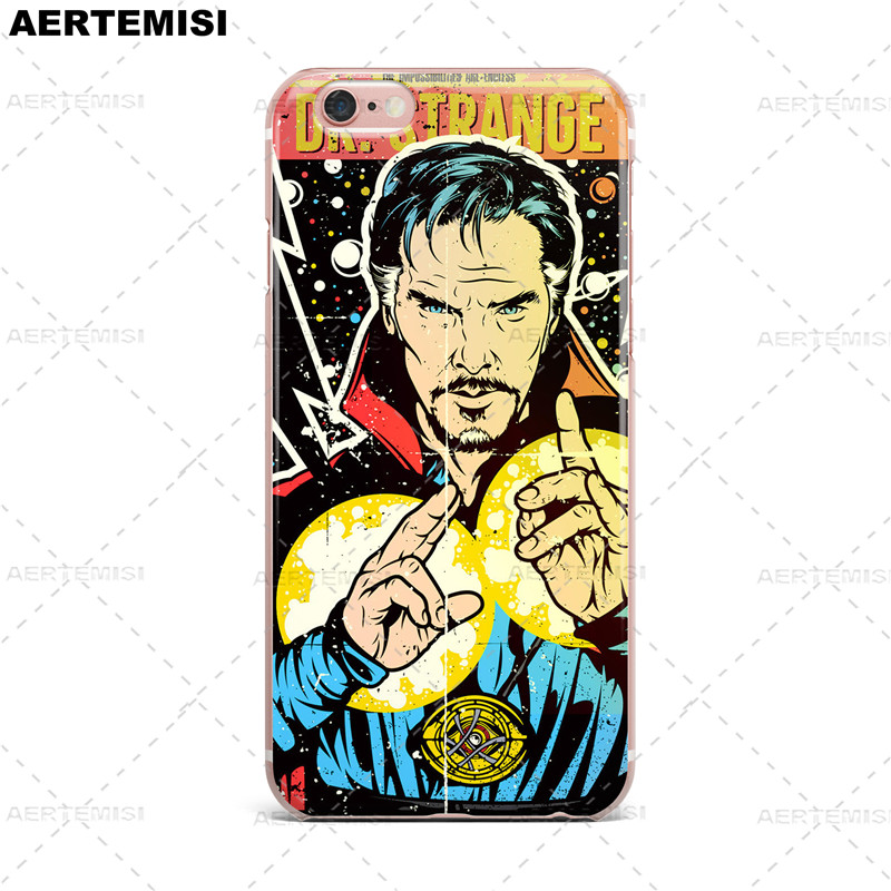 Fitted Cases Phone Cases Doctor Strange Benedict Cumberbatch Superhero Marvel Comics Tpu Case Cover For Apple Iphone 5 5s Se 6 6s 7 Plus Buy One Get One Free