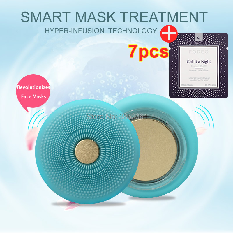 2018 ufo smart mask Beauty Tech Revolutionizes UFO Face Masks in 90 Second 7 masks