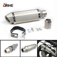 High Quality Universal 36 51 Motorcycle Exhaust Pipe Modified Muffler PipeFor Yamaha fz1 fazer R6S USA VERSION xjr1300 fjr 1300