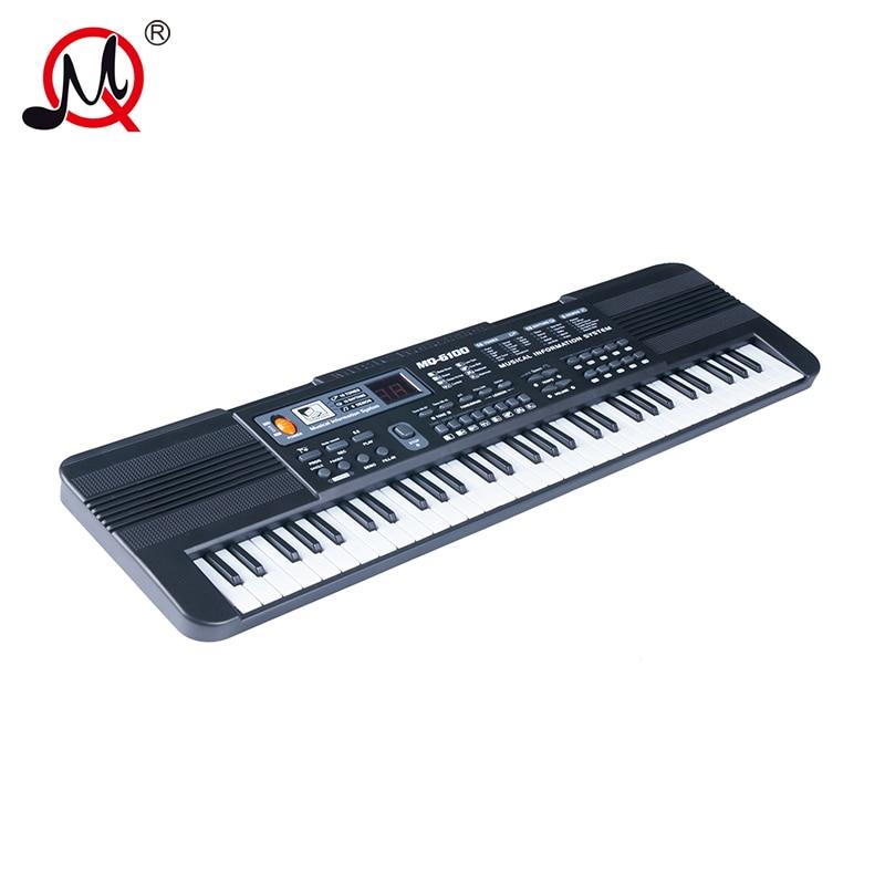 61 keys children s musical instruments midi controller piano font b digital b font professional multifunction