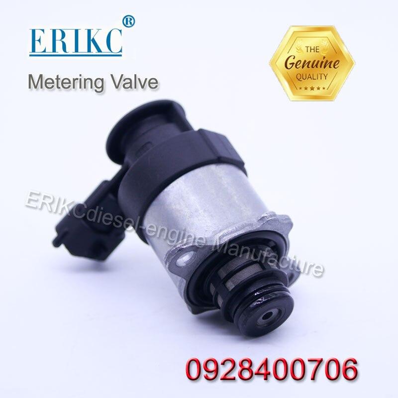 ERIKC 0928400706 Diesel Pompe Vanne De Dosage 0 928 400 706 Auto Carburant Mesure Électrovanne pour Pompe 0445010507/08/14/20