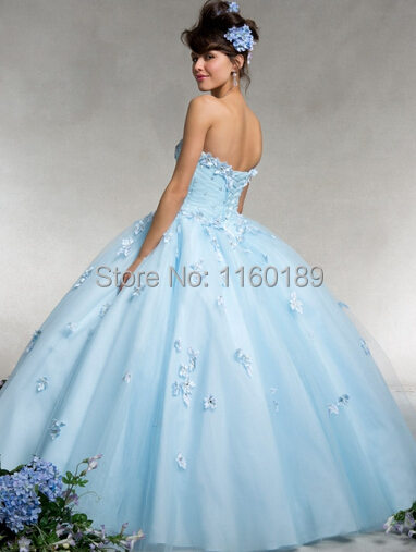 a21dbe81ac5 Free shipping embroidery flowers quinceanera dresses 2014 quinceanera dress  debutante gown debutante gowns vestidos debutantes-in Quinceanera Dresses  from ...