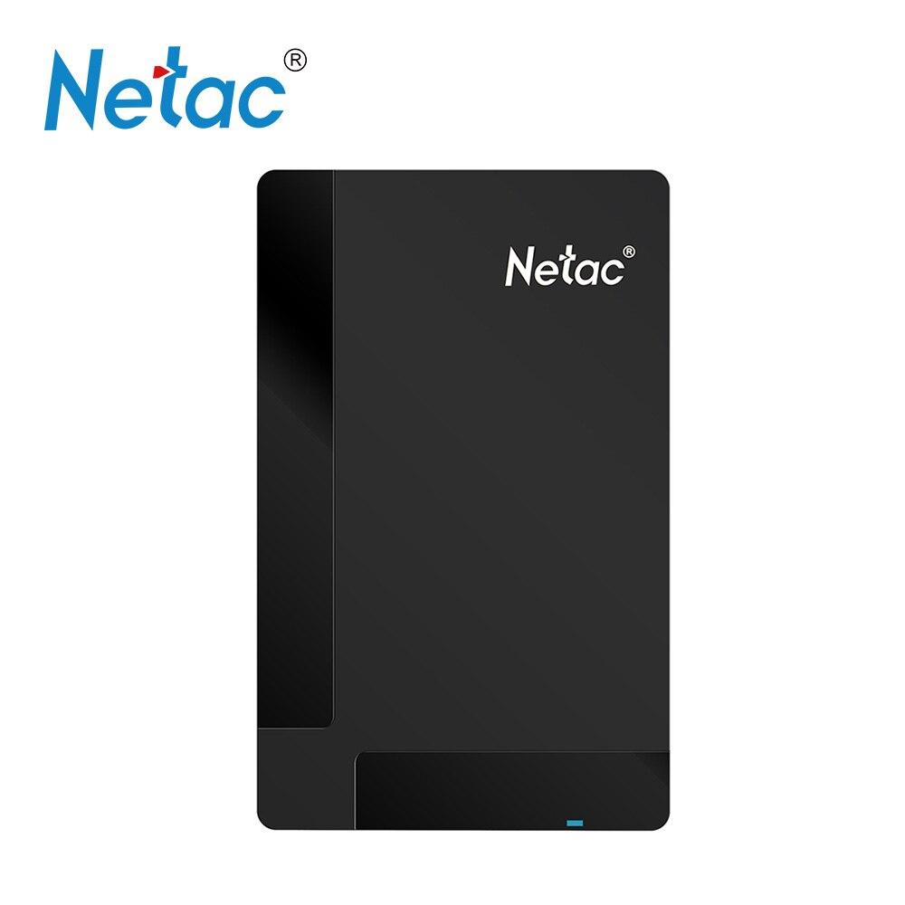 Netac 1TB 500GB HDD USB 3.0 Hard Drive HDD 2.5
