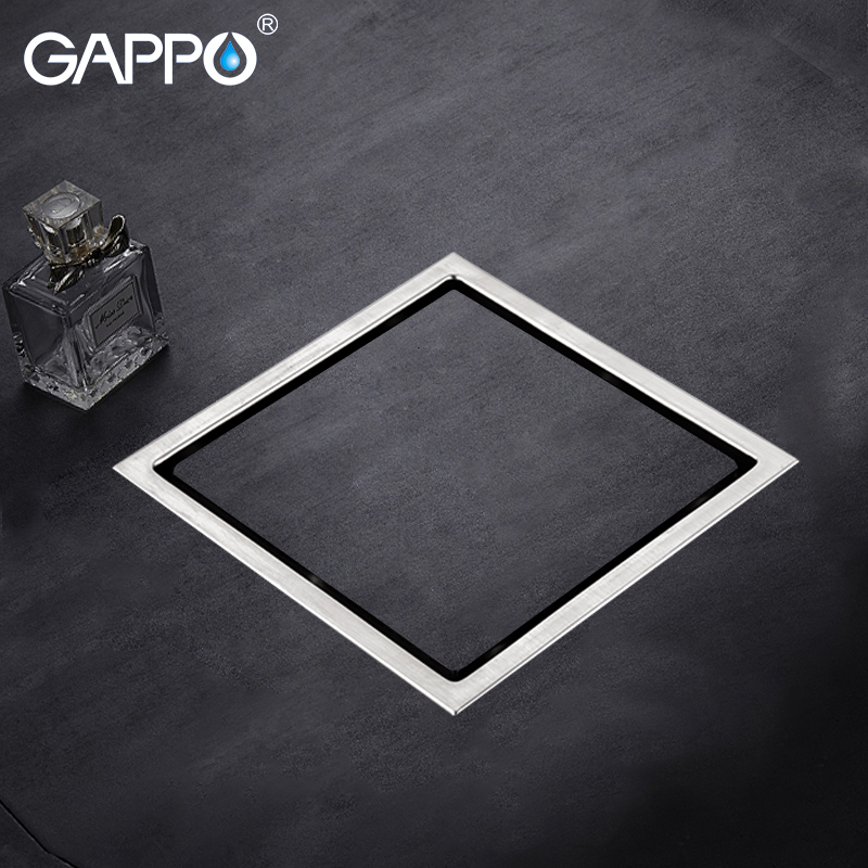 GAPPO Drains stainless steel floor drain bathroom floor cover shower room drain floor drains shower strainer футболка классическая printio смешарики