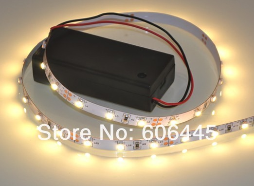 free shipping 50cm led light strip battery powered bicycle led strip light in led strips from. Black Bedroom Furniture Sets. Home Design Ideas