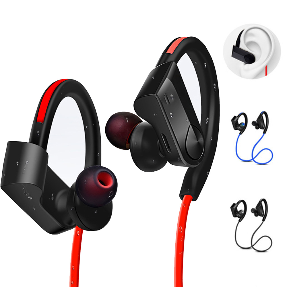 Wireless Bluetooth Earphones Sports Headphone Stereo Headset Waterproof Blutooth Earphone with Mic for iphone xiaomi iphone