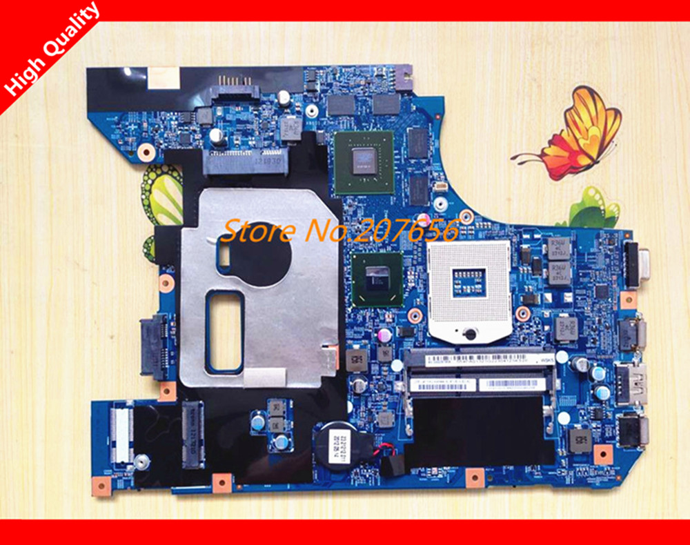 ФОТО system board for lenovo Z570 48.4PA01.021 laptop motherboard non-integrated HM65 8 video chips perfect ON SALE