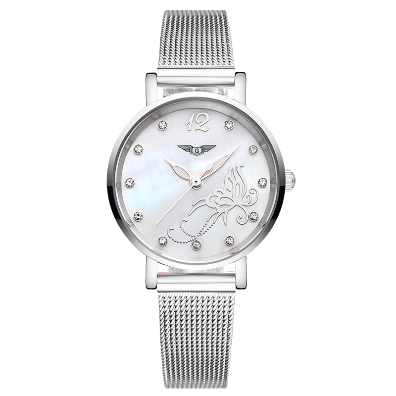 GUANQIN GS19042 Bracelet Watch Women Watches Fashion Casual Quartz Watch Stainless Steel Strap relogio feminino famous brandGUANQIN GS19042 Bracelet Watch Women Watches Fashion Casual Quartz Watch Stainless Steel Strap relogio feminino famous brand