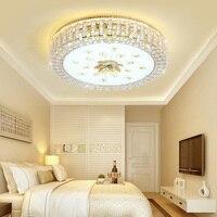 Schlafzimmer led kristall decken lampe warme romantische kreative Europäischen high end fernbedienung dimmen lampen WF6121019-in Deckenleuchten aus Licht & Beleuchtung bei