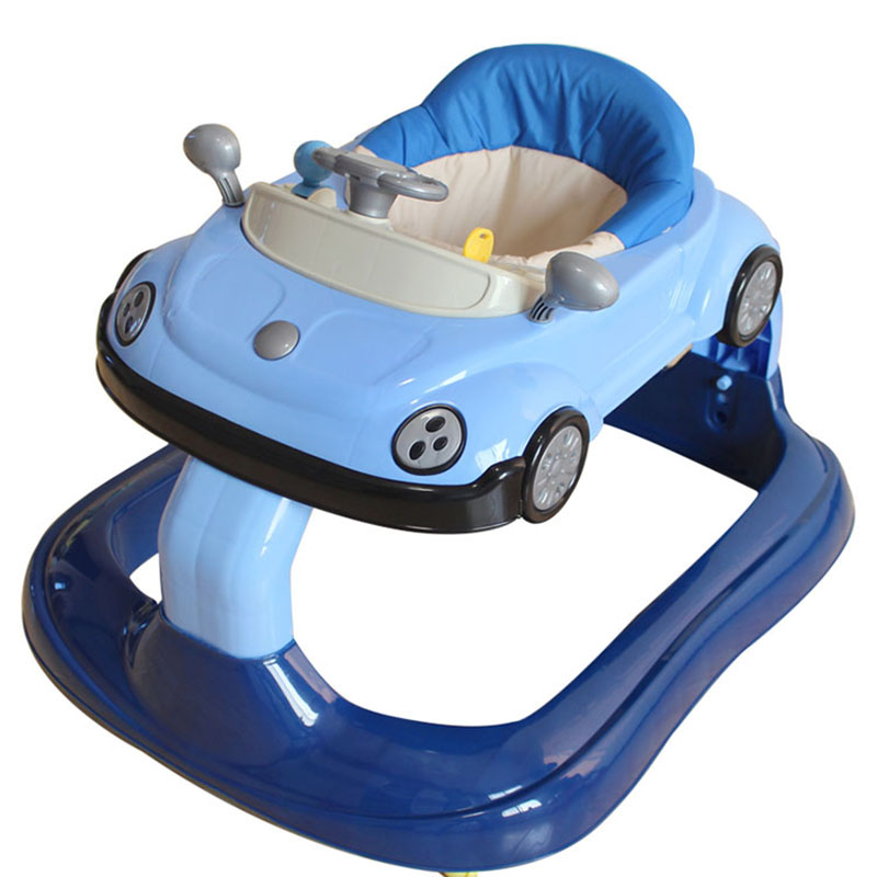 Baby Walker Multi-function Anti-rollover Male Baby Anti-E-legs Boys and Girls General 6-7-18 Months Walker
