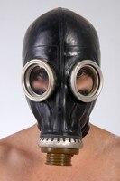 100% Natural Latex Head Hood Rubber Cosplay Mask