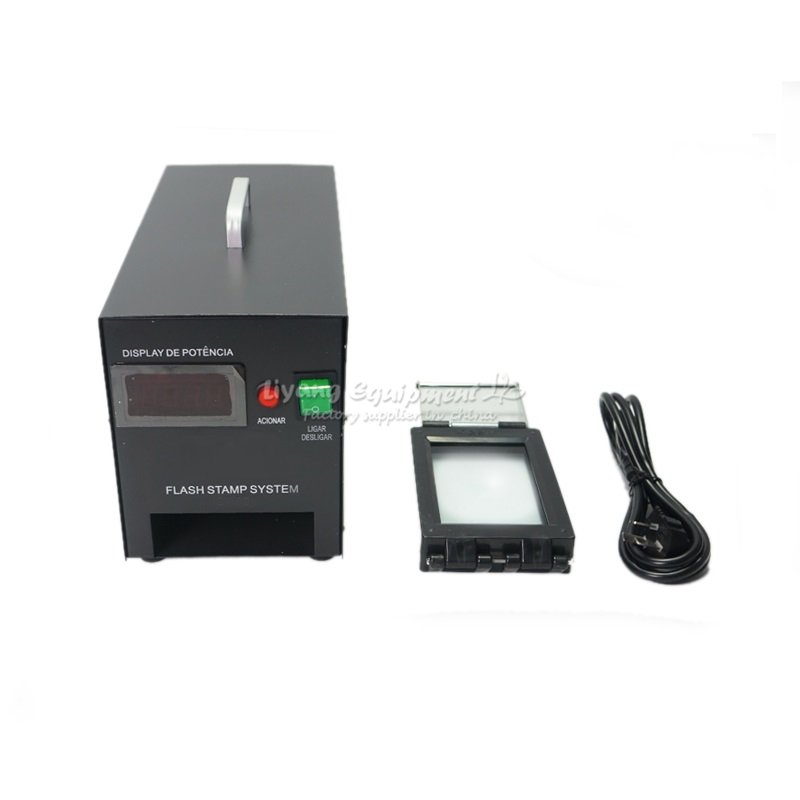 LY P20 Digital photosensitive seal machine with Temperature Control System PSM stamp maker with free gift pack
