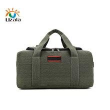 Мужская Холщовая Сумка большой вместимости 70L или 40L, Классическая багажная сумка, утолщенная прочная сумка, черная, коричневая, Армейская, зеленая, 3 цвета