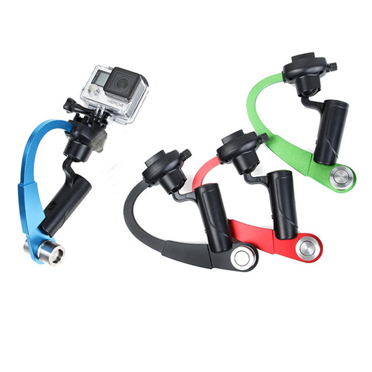 Camera gopro stabilizzatore curva handheld video steadicam per hero 4 3 + 3 2 1 sjcam sj4000 5000 gopro hero4 session