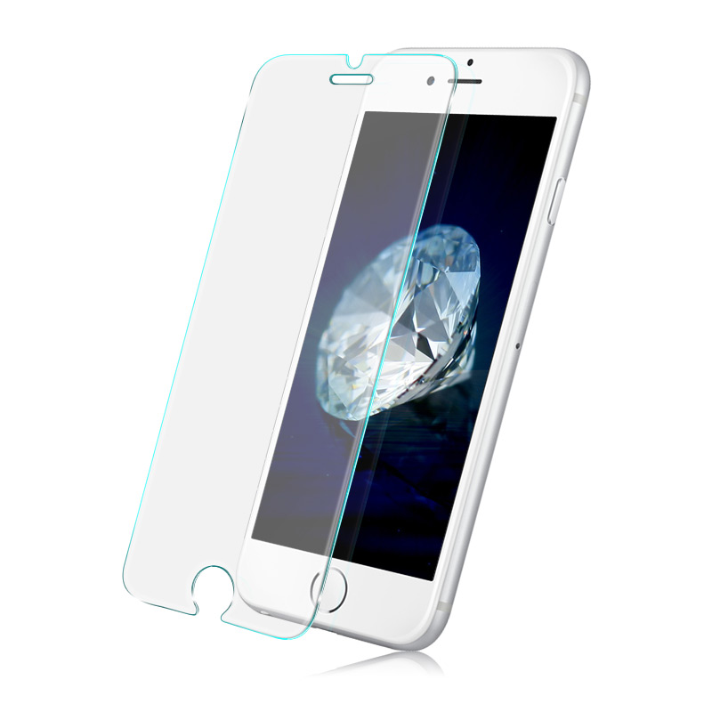 In stock Imak 2pcs amazing glass screen protective film for Apple iPhone 7 add cowboy case add retail package