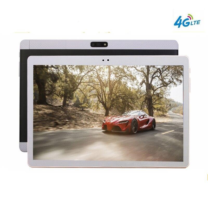 все цены на 2018 New 10.1' Tablets K99 10 Core 128GB ROM Dual Camera 8MP Android 7.0 Tablet PC 2560X1600 GPS bluetooth phone MT6797 онлайн