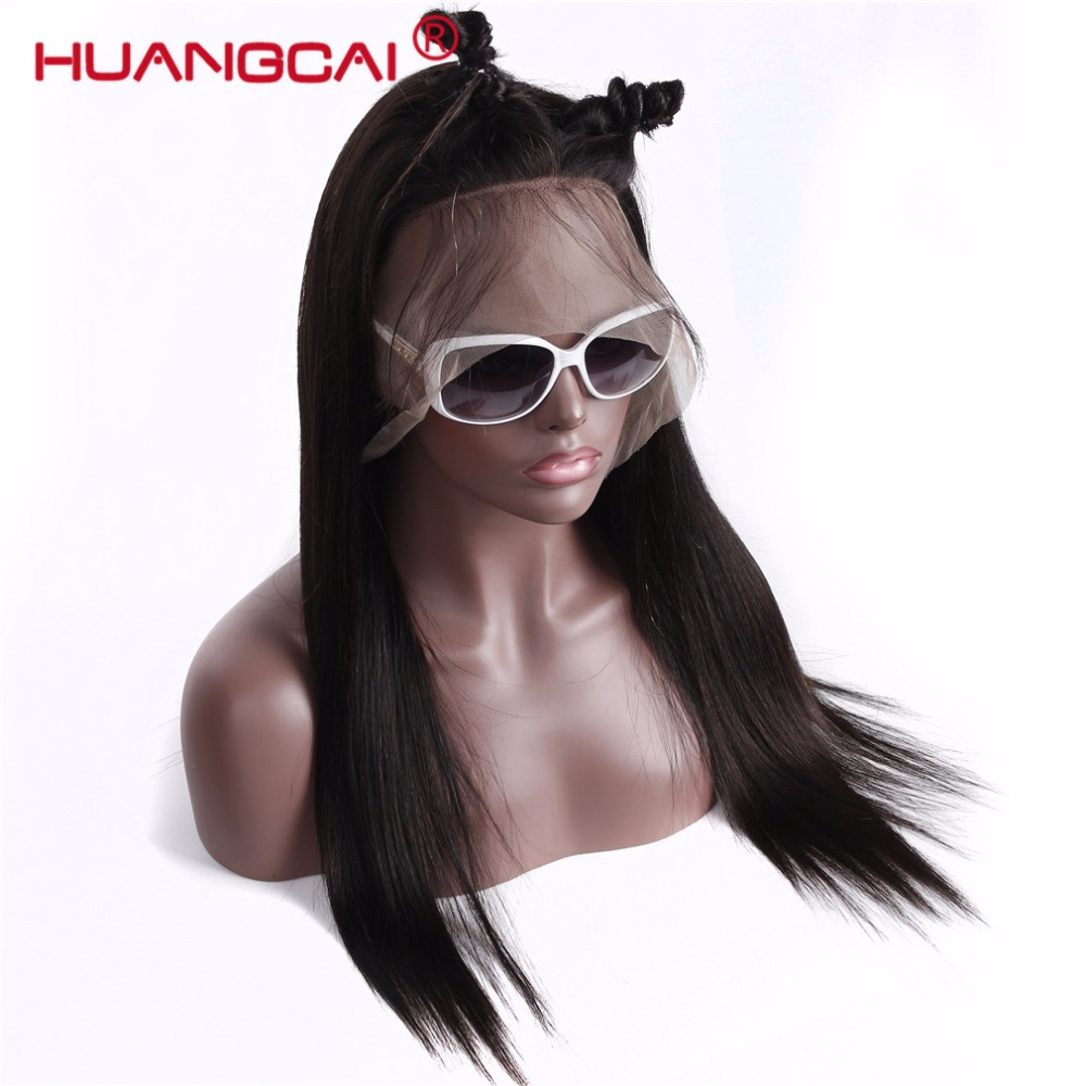 Pre Plucked Full Lace Human Hair Wigs Malaysian Straight Glueless Full Lace Wigs With Baby Hair Natural Hair Wigs For Women Remy
