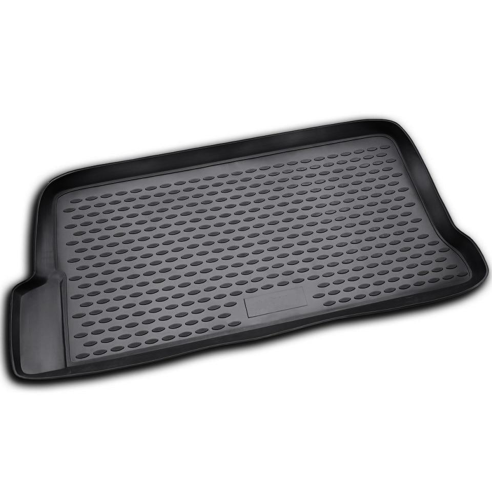 Car trunk mat for Daewoo Matiz 2005-2015 Element NLC1104B11 car trunk mat for daewoo nexia 1995 2016 element nlc1105b10