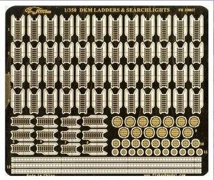 Сборки модели yingxiang 1/350 Пособия по немецкому языку темно-эскалаторы и прожекторов  ...