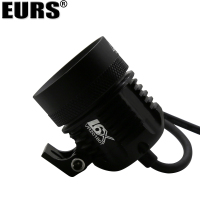 EURS Motorcycle headlight lamp l6X led spotlight super bright 12V motor spot head lights Shop street light 7000k 60W white