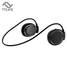 Ttlife nuevo deporte auricular inalámbrico de auriculares bluetooth estéreo bajo estupendo jogging correr auriculares auriculares manos libres para iphone 7