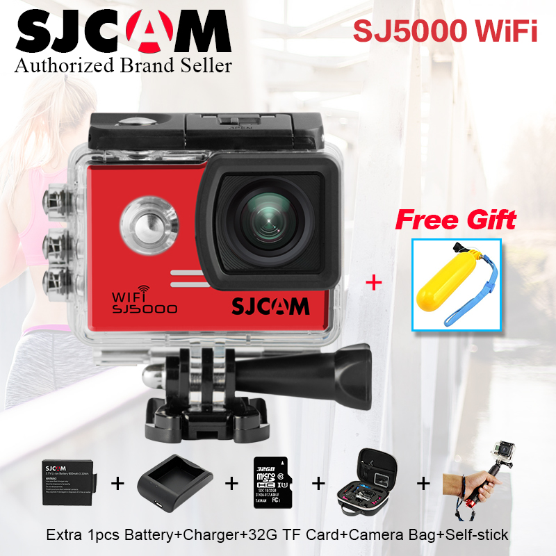 Original SJ CAM sjcam SJ 5000 WIFI Action Camera Sport camera Waterproof Camera Novatek 96655 1080P Full HD gopro style Cam DV sjcam sjcam sj5000 wifi 96655 full hd 1080p