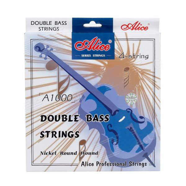 4 Sets Lot Double Bass Strings 4 Strings